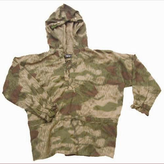 Picture of German WWII Wehrmacht 1944 Pullover Sniper Smock