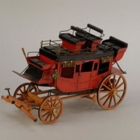 Picture of Horse Power Metal Stagecoach
