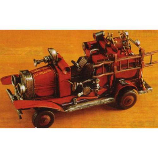 Picture of Fire Engine Metal Sculpture