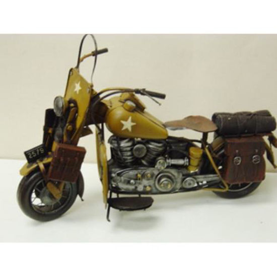 Picture of WWII Army Motorcycle