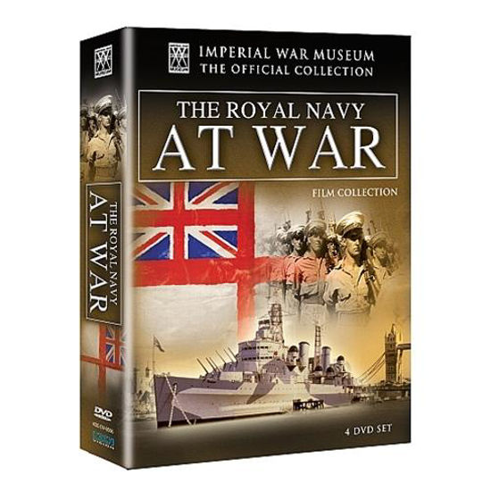 Picture of The Royal Navy At War DVD Set