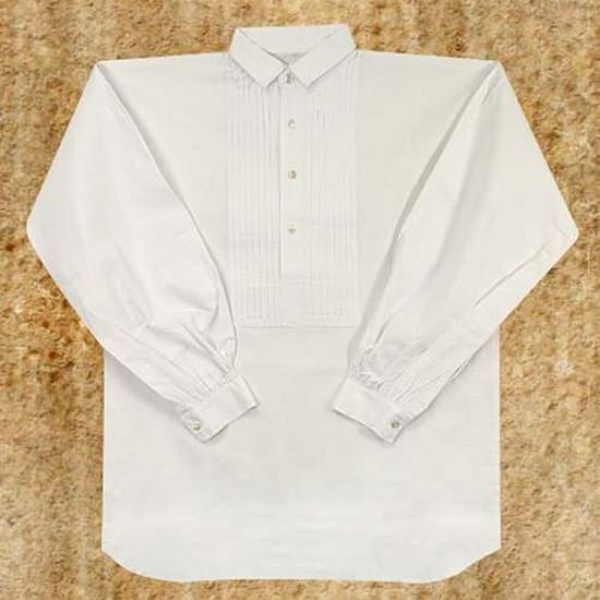 Picture of Youth Pleated Front Dress Shirt