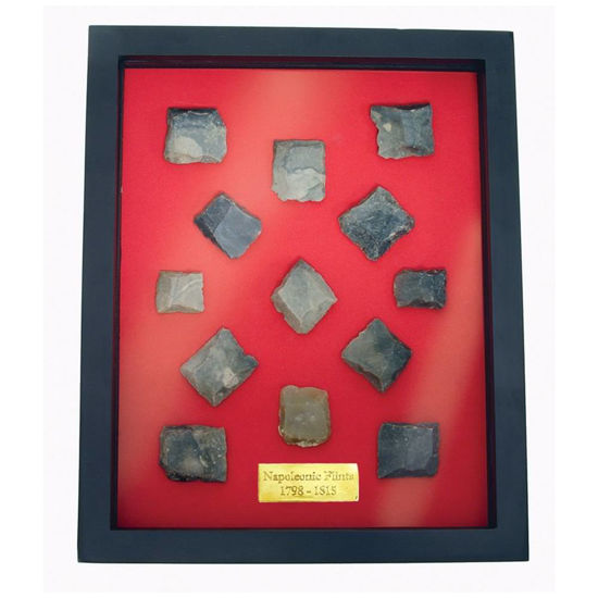 Picture of Brown Bess Musket Flints Display Box