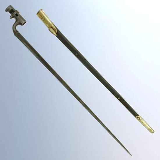 Picture of P-1876 Martini Henry Bayonet with Scabbard