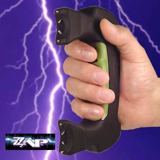 Picture of 1,200,000 Volt ZAP Double Trouble Stun Gun with Holster & Batteries