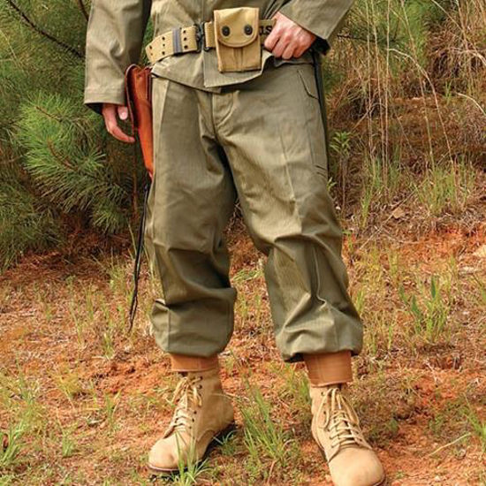 Picture of US WWII HBT Reproduction Pants