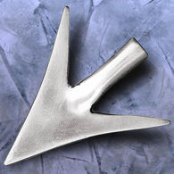 Picture of Large Straight Broadhead Arrowhead