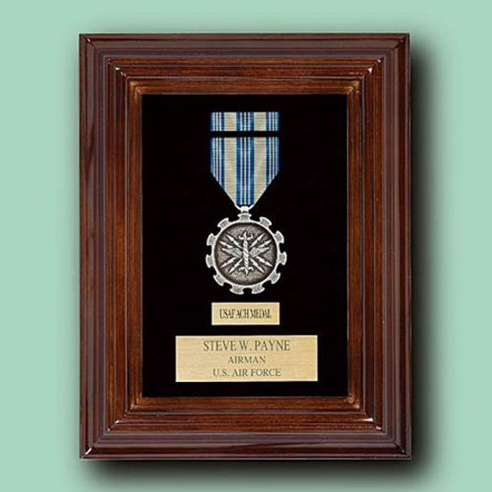 Picture of Military Medal / Badge Display Case