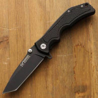 Picture of Rubber Insert Grip Tanto Point Knife