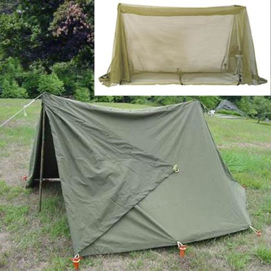 Picture of US GI Surplus Pup Tent with Mosquito Netting
