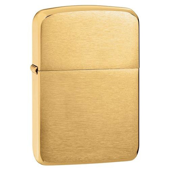 Picture of 1941 Replica Brushed Solid Brass Zippo Lighter
