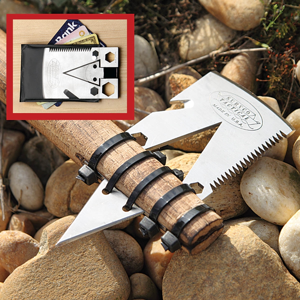 Picture of Tactical Credit Card Axe