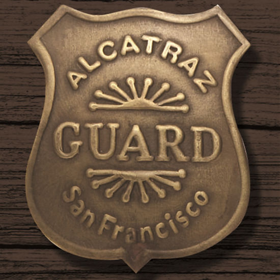 Picture of Alcatraz Guard Badge
