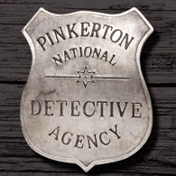 Picture of Pinkerton Detective Agency Badge
