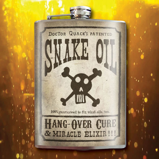 Picture of Snake Oil Flask
