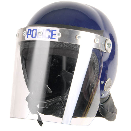 Picture of British Police Riot Surplus Helmet