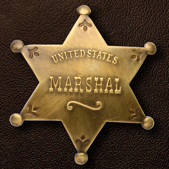 United States Marshal Badge Replica