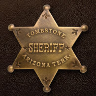 Picture of Tombstone AZ Sheriff Badge
