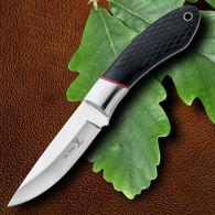 Elk Ridge Hunter Knife Black Wood Scales