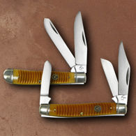 Roper Trapper & Stockman Folders Set of Pocket Knives
