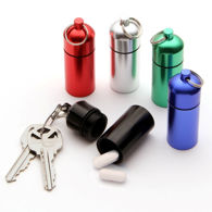 All-Purpose Pill / ID Holder Set cum Key Chain