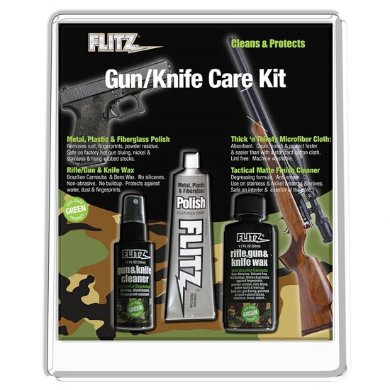 Flitz Knife, Sword & Gun Care Kit