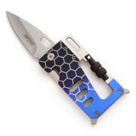 Blue Multi-Tool Carabiner Knife - MTech