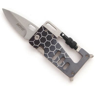 Grey Multi-Tool Carabiner Knife by MTech