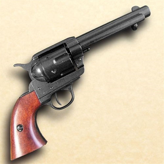 1873 Fast Draw Short Barrel Revolver  - Black Finish