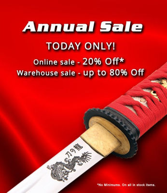 Annual Sale May 20th, 2017!