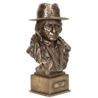 Sitting Bull Bust Statue