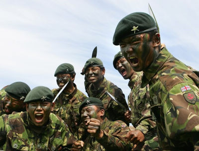 The Brave Gorkha Soldier