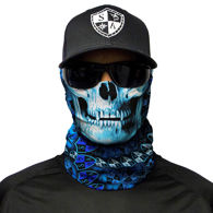 Picture of Multi Use Skull Face Shield Tubular Bandana