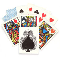 Old West Pharo Poker Playing Cards