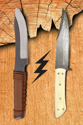 Which is better: Carbon Steel or Damascus Steel Knife?