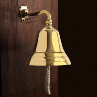Nautical Standard Mount Brass Bell
