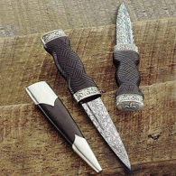 Picture of Damascus Sgian Dubh