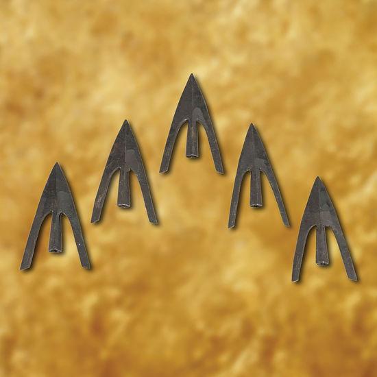 Type 15 Swallowtail Arrowhead (set of 5)