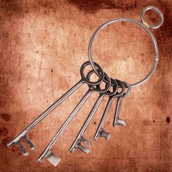 Metal Skeleton Keys