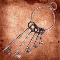 Metal Skeleton Keys