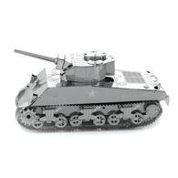 Sherman Tank Metal Model