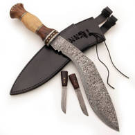 Picture of Custom Damascus Kukri