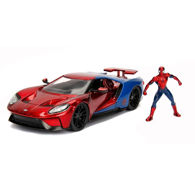 Picture of Marvel Spider Man 2017 Ford GT Die-Cast Model with Figure