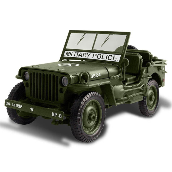 Picture of 1941 Willys MP Army Jeep Die-Cast Model