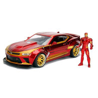 Picture of Marvel 2016 Camero SS Die-Cast Model with Iron Man Figure
