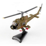 Picture of UH-1C Huey Gunship 1st Cavalry U.S. Army Die-Cast Model