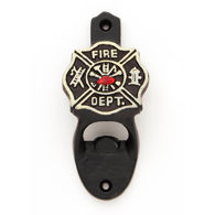 Cast Iron Fireman Bottle Opener