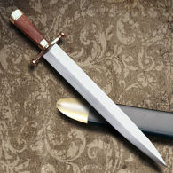 Arkansas Toothpick Bowie Knife with Scabbard