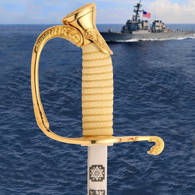 US Navy Officer's Dress Saber Hilt