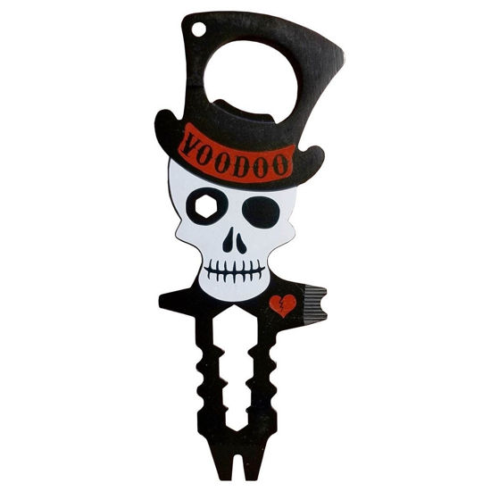Voodoo 9 in 1 Bottle Opener / Multi-Tool